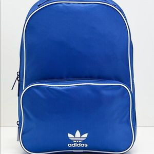 Adidas classic backpack blue